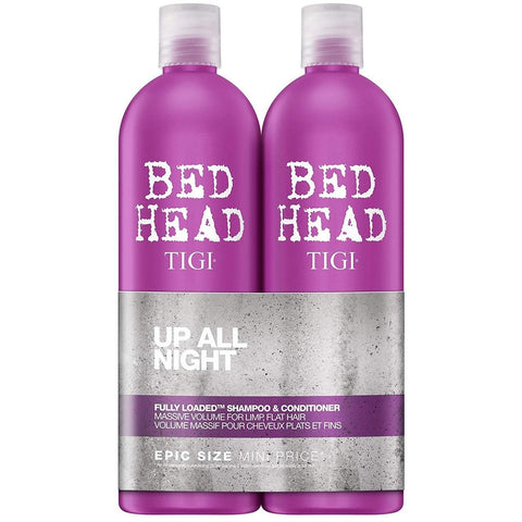 2 bottles of TIGI Bed Head fully loaded tween shampoo and conditioner