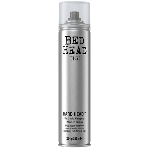 A Can of Tigi Bed Head Hard Head Strong Hold Hairspray 284 gram
