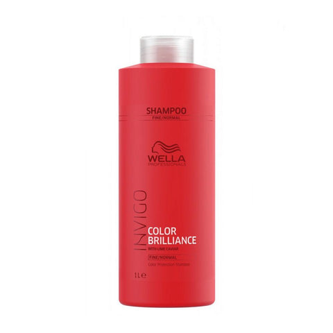 Wella Invigo Color Brilliance For Fine Colored Hair Shampoo