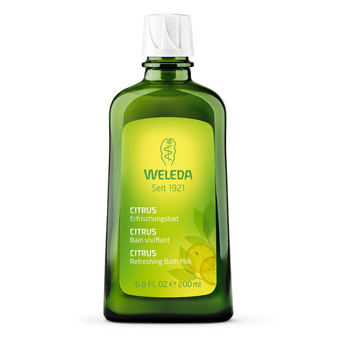 Weleda Citrus Refreshing Bath Milk:Skin Care