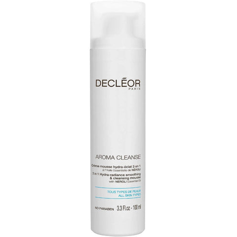 Decleor Aroma Cleanse 3 In 1 Hydra Radiance Smoothing & Cleansing Mousse:Skin Care