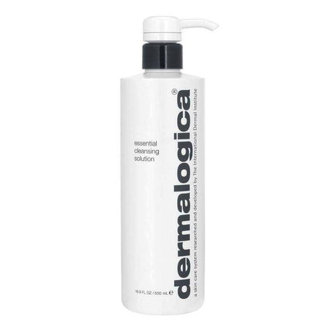 A 500 ml dispenser of Dermalogica Essential Cleansing Solution | Active Care Store