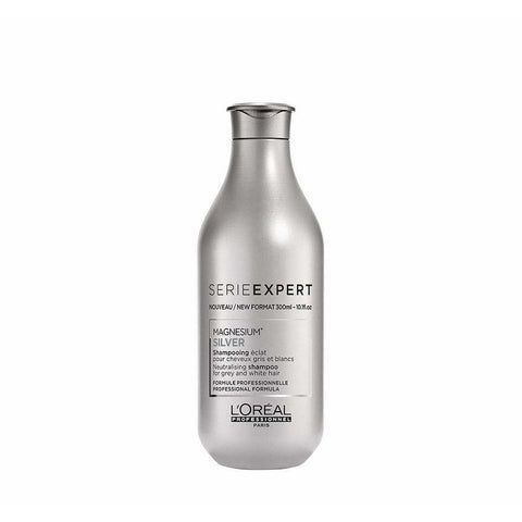 A bottle of L'Oreal Serie Expert Magnesium Silver Shampoo | Active Care Store