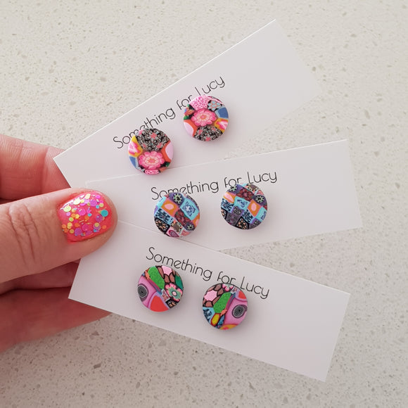 Mini Stud Earrings