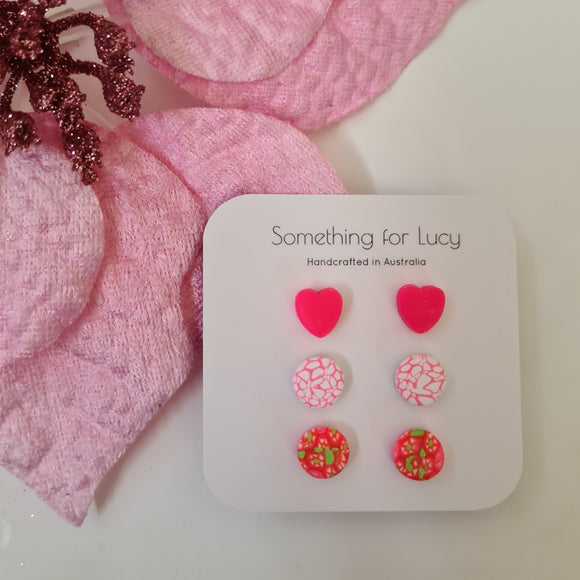Gift Set #26 (Hearts are HOT PINK)