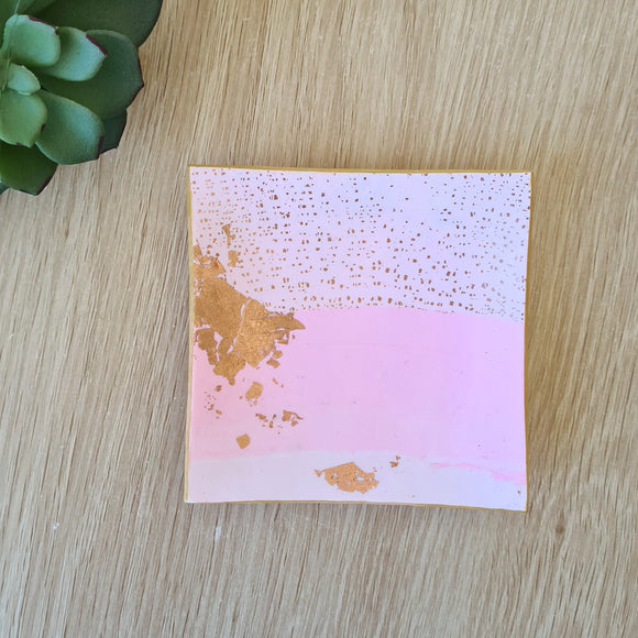 Powder Pink Trinket Dish