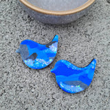 Bluebird Brooch #3