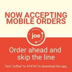 JOE Coffee Mobile Ordering