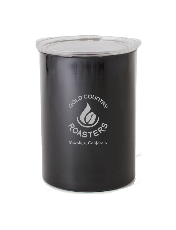 Airscape Storage Canister with logo black