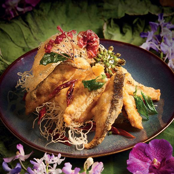 Deep-fried Garoupa Fillet, Sweet and Sour Chili Sauce - Anantara Siam Bangkok Hotel