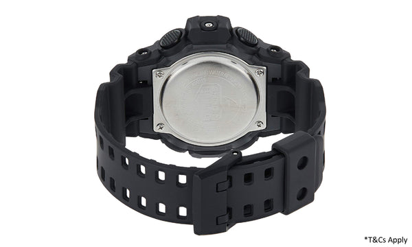 Casio Men's G Shock Quartz Resin Casual Watch Black