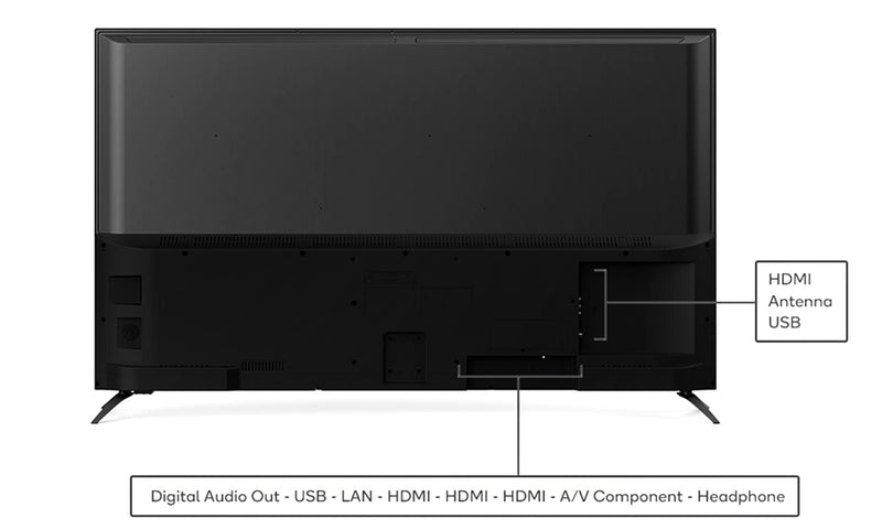 "LAD 43"" Full HD Smart TV & Ministry 40w Soundbar combo"
