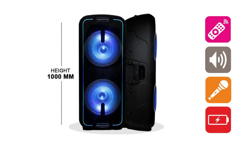 Samsung Galaxy A20 (2019) Smartphone & Ministry 003 Neighbour Hater Speaker combo
