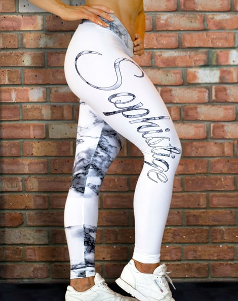 Marble Goddess Leggings