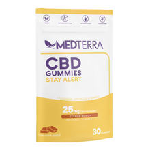 Load image into Gallery viewer, CBD GUMMIES STAY ALERT 25 MG