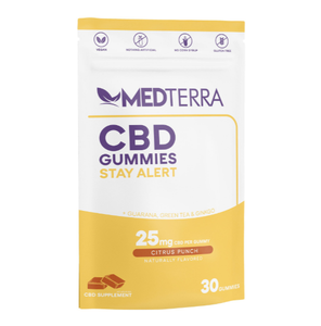 CBD GUMMIES STAY ALERT 25 MG