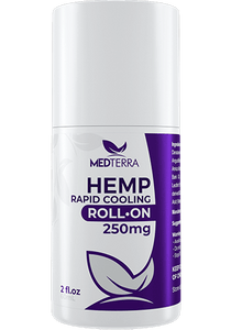 HEMP TOPICALS HEMP RAPID COOLING ROLL-ON