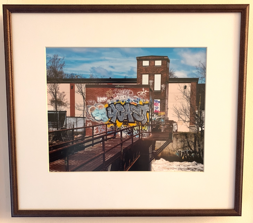 Artists Right Of Way (Custom Framed)
