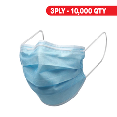 3PLY - Blue Masks - 10,000qty
