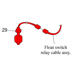 UJF Float Switch Assembly