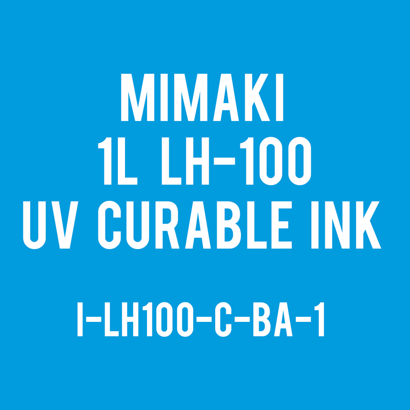 Mimaki 1Liter - UV Curable Ink Bottle - LH-100