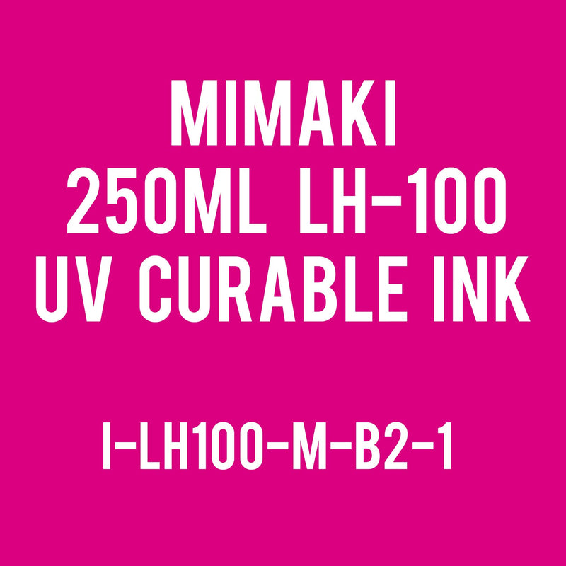Mimaki 250mL - UV Curable Ink Bottle - LH-100