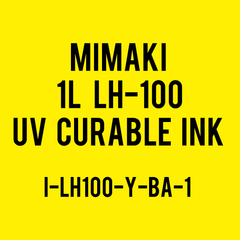 Mimaki 250mL LH-100 UV Curable Ink