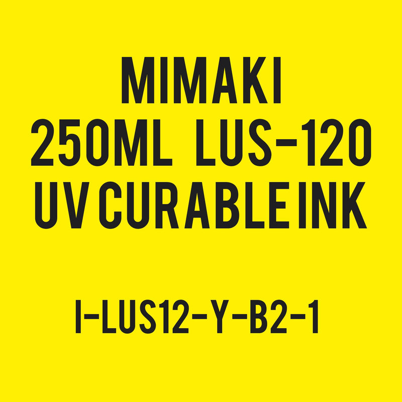 Mimaki 250mL - UV Curable Ink Bottle - LUS-120
