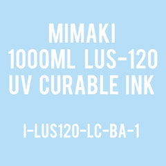 Mimaki 1Liter - UV Curable Ink Bottle - LUS-120