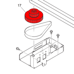 UJF Y Drive Pulley Assembly