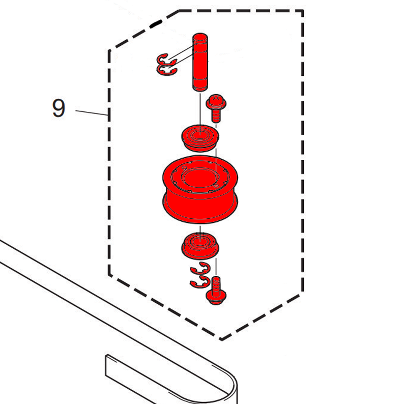 UJF Y-T Pulley Assembly