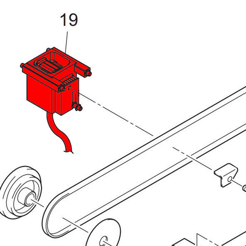 UJF Wiper Slider Assembly