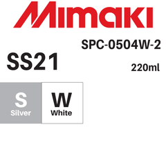 Mimaki 220ml - Solvent Ink Cartridge - SS21