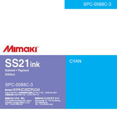 Mimaki 2L - Solvent Ink Cartridge - SS21