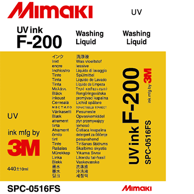 Mimaki - UV Ink F-200 Washing Liquid - 440ml Cartridge