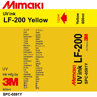 Mimaki 600mL - UV Curable Ink Pack - LF-200