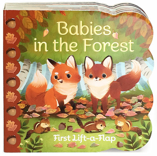 Babies in The Forest Board Book