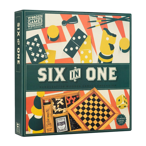 Six in One Wooden Games