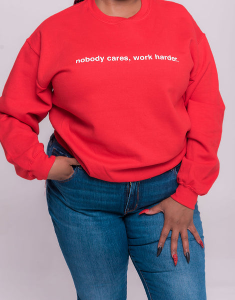 Work Harder Sweatshirt