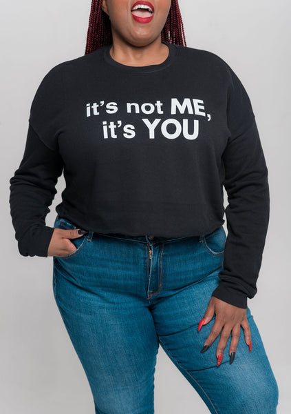 It's YOU Crop Top Sweatshirt