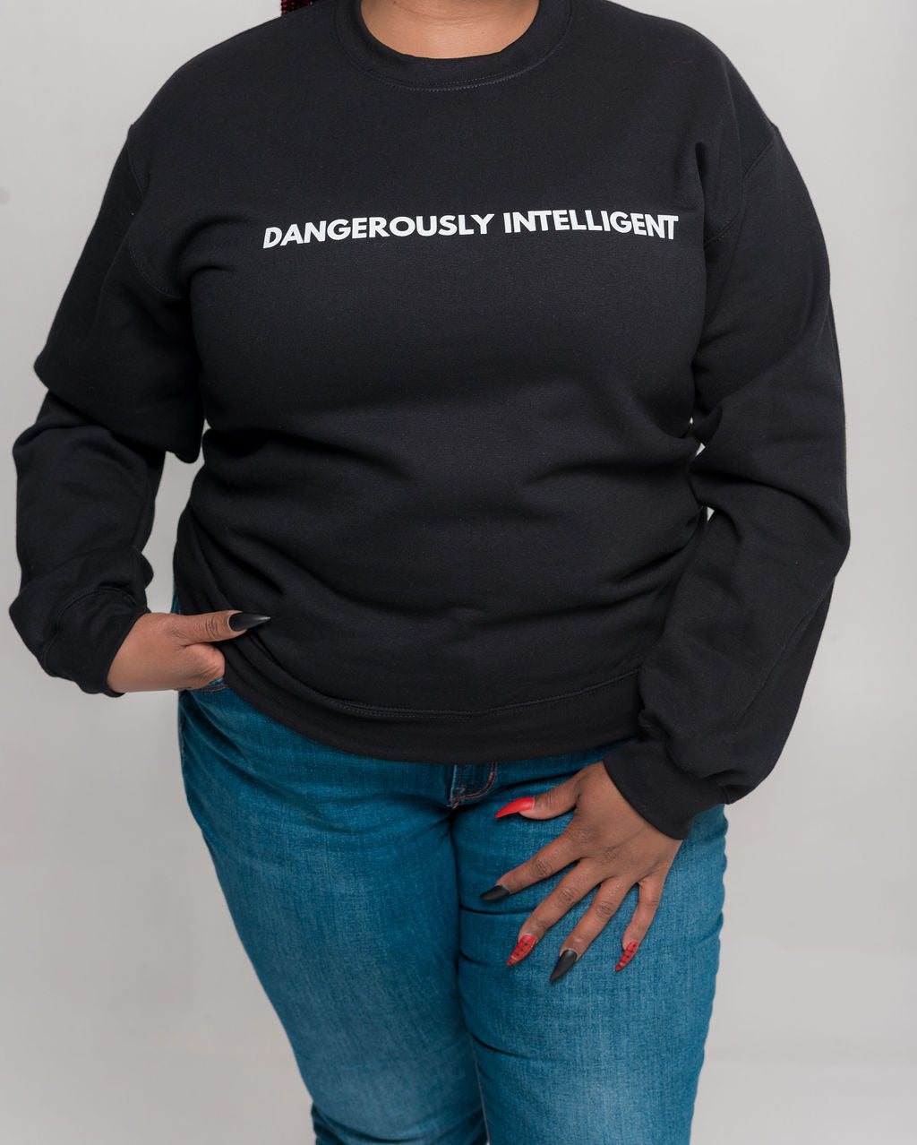 Dangerously Intelligent Sweatshirt