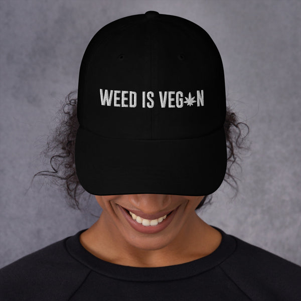 Weed Is Vegan Hat