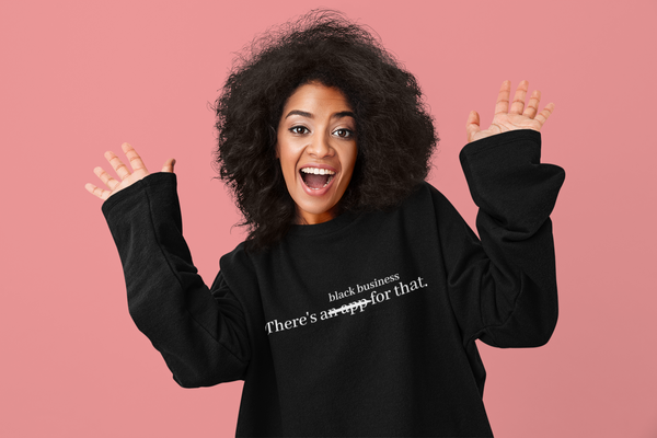 Black Business Sweatshirt