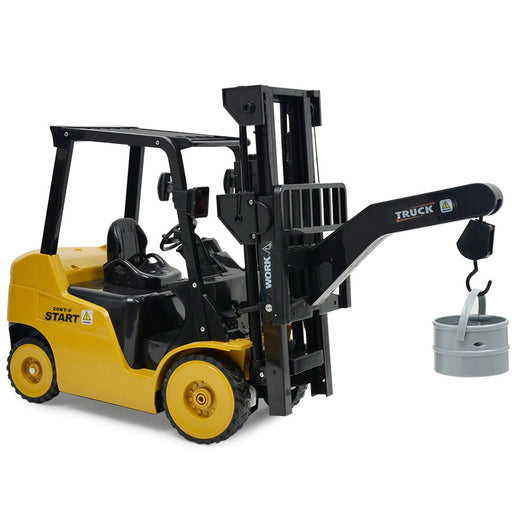 1:8 11 Channel RC Forklift Crane RC Construction Vehicle toy