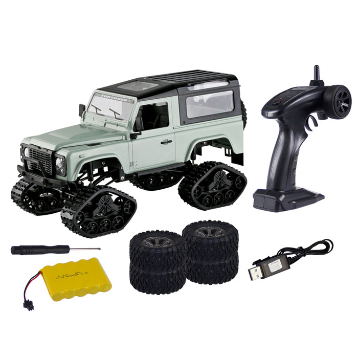 RC Cars RC Remote Control Car 1:16 2.4G 4WD Cross-country Car Snow Climbing Car RC Remote Control Car Toy with 2 Kinds All-terrain Crawler Wheels