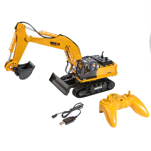 RC Trucks Remote Control Excavator Tractor 1:16 11CH 2.4GHz Control Construction Toys