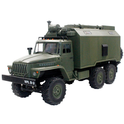 Rc Trucks Military Truck 1:16 2.4G 6WD RC Car Heavy Off-Road Mobile Command Vehicle Military Truck Toy Gift for Kids