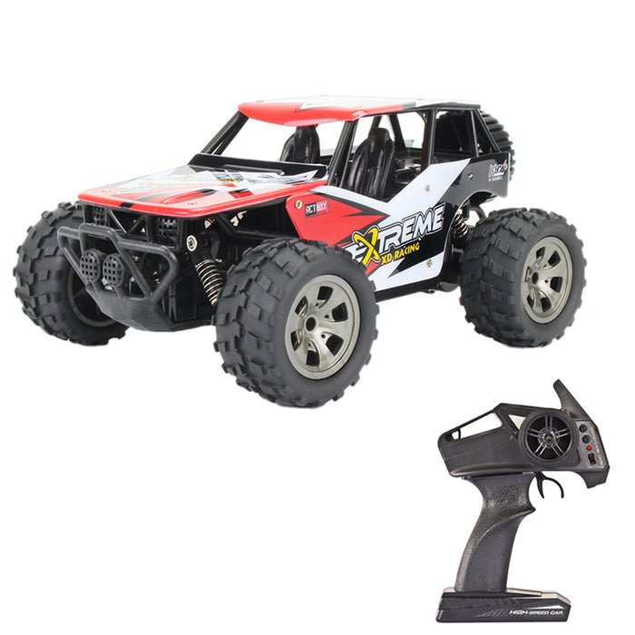 Rock Crawler Off-road Vehicle Monster Trunk 1:18 2.4G 2WD Racing Car Toy