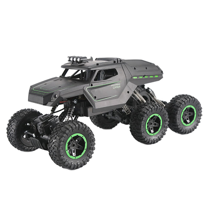 Rc Truck Remote Control Off-Road Racing Vehicles 1:12 2.4G Six-drive Six-wheel RC Climbing Off-road Vehicle High-speed Racing Model Q51C