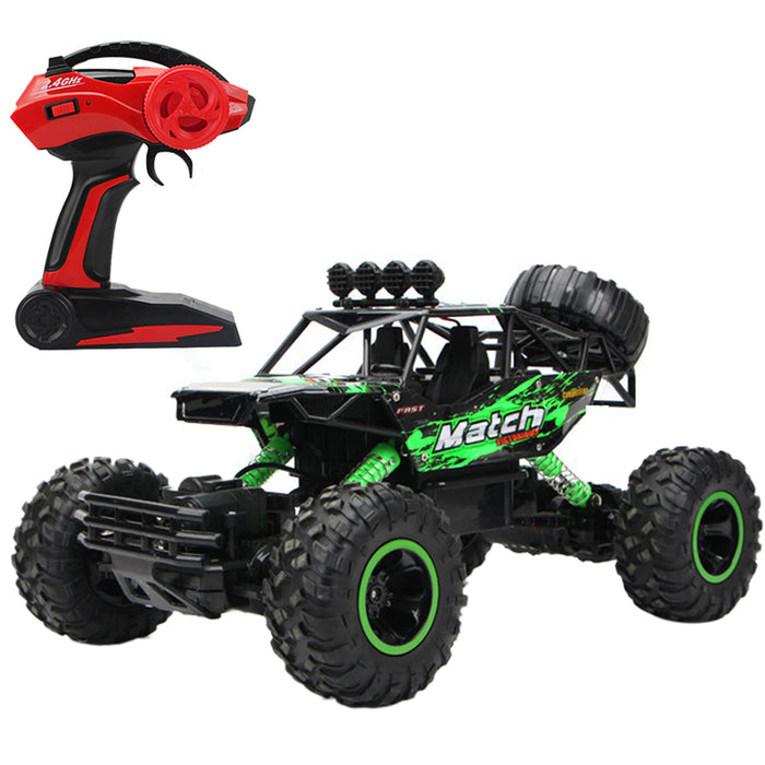 RC Dual Motor Off-road Vehicle Monster Trucks 1:12 2.4G 4WD Extra-large Climbing Car Model Toy for Kids